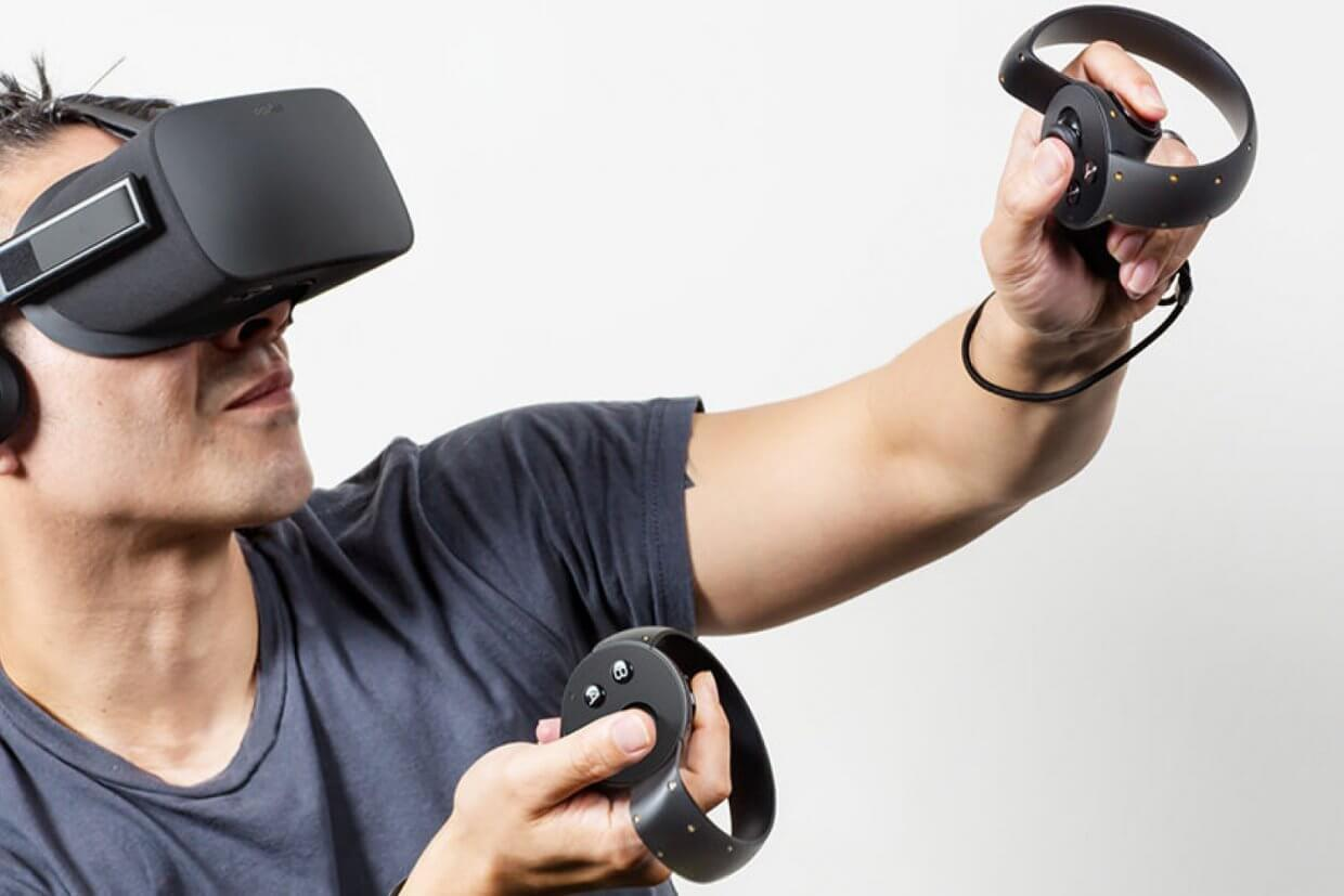 VR oculas touch